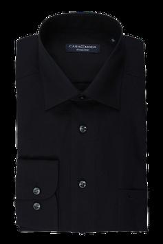 Extralang City Hemd, schwarz