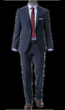 Anzug, dunkelblau