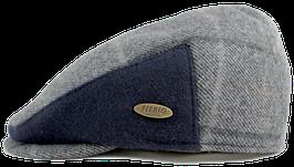 Kappe, grau-blau