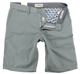 Bermuda-Short, grün