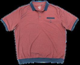 Polo, rot-blau