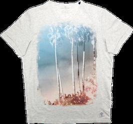 T-Shirt, uni weiß