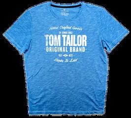 T-Shirt, royalblau meliert