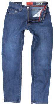 Airtouch Jeans, mittelblau