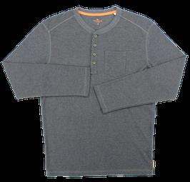 Sweat-Pullover, blau meliert