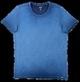 T-Shirt, jeansblau