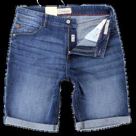 Jeans-Short, blau verwaschen