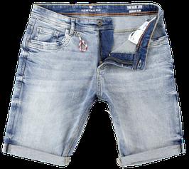 Jeans-Short, hellblau