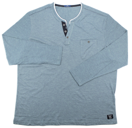 XXL Shirt, jeansblau