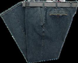 Autofahrerhose, blau-grau