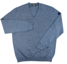 Strickpullover, Nimes Blue uni