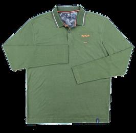 Sweat-Polo, grün