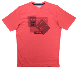 T-Shirt, rot