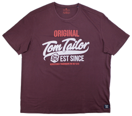 XXL T-Shirt, bordeauxrot