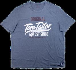 XXL T-Shirt, jeansblau