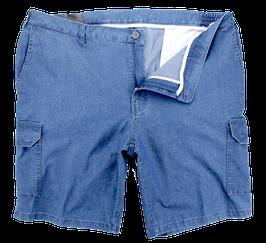 Cargo-Short, jeansblau