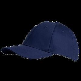Basecap, blau