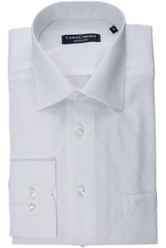 Extralang City Hemd, weiß