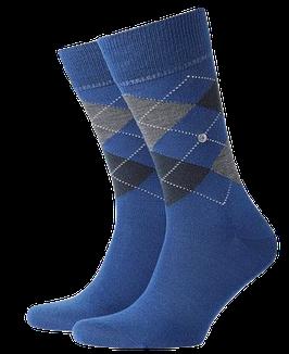 Kurzstrümpfe, royalblau-marineblau-grau