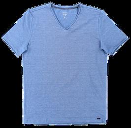 Leinen T-Shirt, hellblau