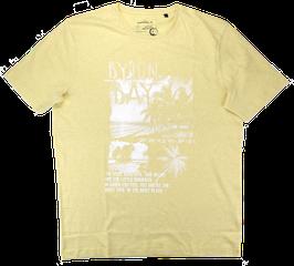 T-Shirt, zitronengelb uni