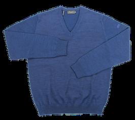 Strickpullover, blau