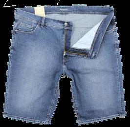 Jeans-Short, mittelblau