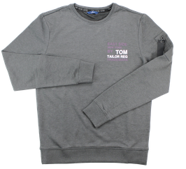 Sweat-Pullover, grau
