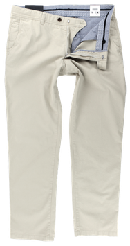 Flatfronthose, beige
