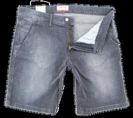 Bermuda-Short, blau-weiß gestreift