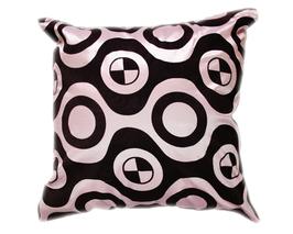 タイシルク クッションカバー  チェッカーデザイン シルバー 【銀】 【Checker Design , Silver / Thaisilk Cushion Cover】 45×45cm 対応