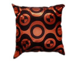 タイシルク クッションカバー  チェッカーデザイン ブロンズ 【銅】 【Checker Design , Bronze / Thaisilk Cushion Cover】 45×45cm 対応