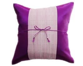 タイランド クッションカバー チェンマイ デザイン パープル 【紫色】  【Chiang Mai Design , Purple / Thailand Cushion Cover】 40×40cm