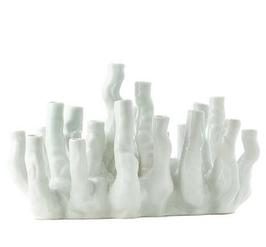 Pols Potten - vase coral reef white