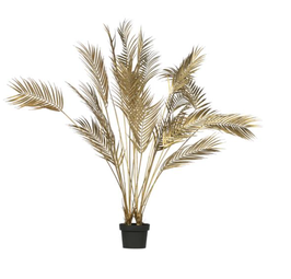 Woood - Palm Kunstplant Goud 110 cm