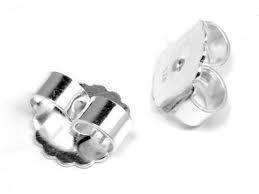 Ersatz-Ohrmutter Silber 925