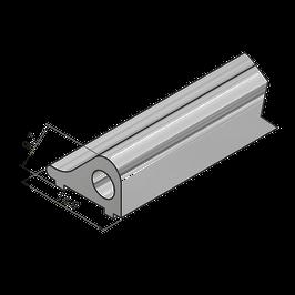 Schwallschutzprofil Länge 900 mm; Art.Nr., 8535; Farbe: Weiß oder glanzeloxiert