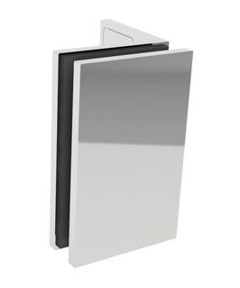 Serie SM-Lea, Winkelverbinder Wand/Glas 90°