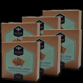 6 Packungen Honigpralinen Minze (4er)
