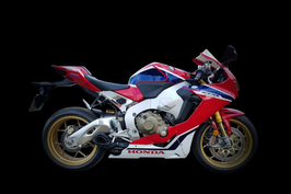 CBR1000RR 17-19 WILLY MADE Slip-on