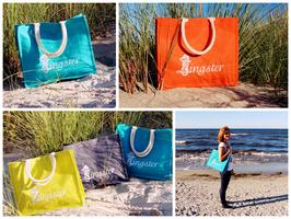Zingster Jute-Strandtasche