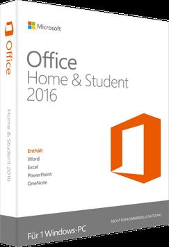Microsoft Office 2016 Home & Student Key