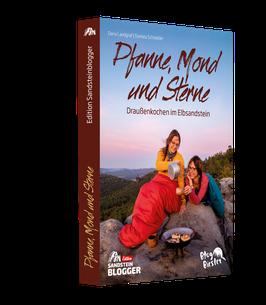 """Buch """"Pfanne, Mond und Sterne"""" - Draußenkochen im Elbsandstein"""