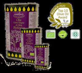 """Principe"" -   Bio Extra natives Olivenöl  aus Sizilien in Dosen"