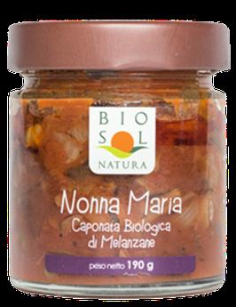 Mischung von Auberginen und Gemüse Bio (Caponata) 190 g