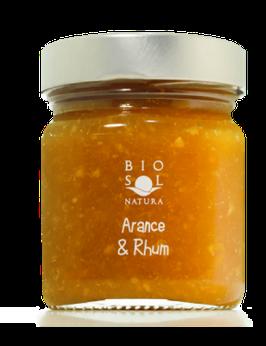 Marmelade aus Orangen und Rum aus Sizilien BIO 250g