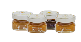 Bio-Degustationspaket mit Konfitüren aus Sizilien