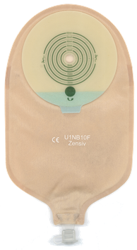 1-teilig Urostomie 10-57 mm Transparent