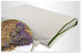 Kuschelkissen Hirseschalen & Lavendel