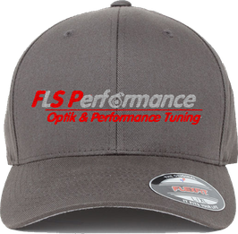 "FLS-Performance - Cap ""FLEXFIT"" in Dunkelgrau"